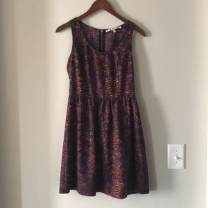 Collective Concepts Purple Dress Size Small